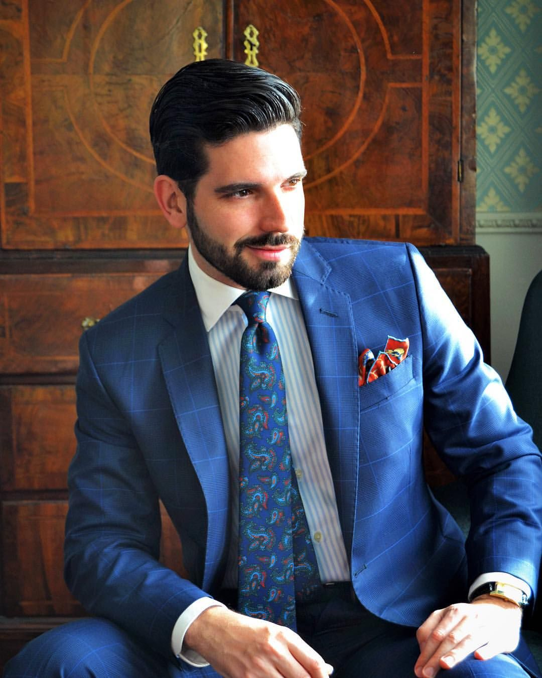 Suit and tie fixation — Make today worth remembering  | Brogues in