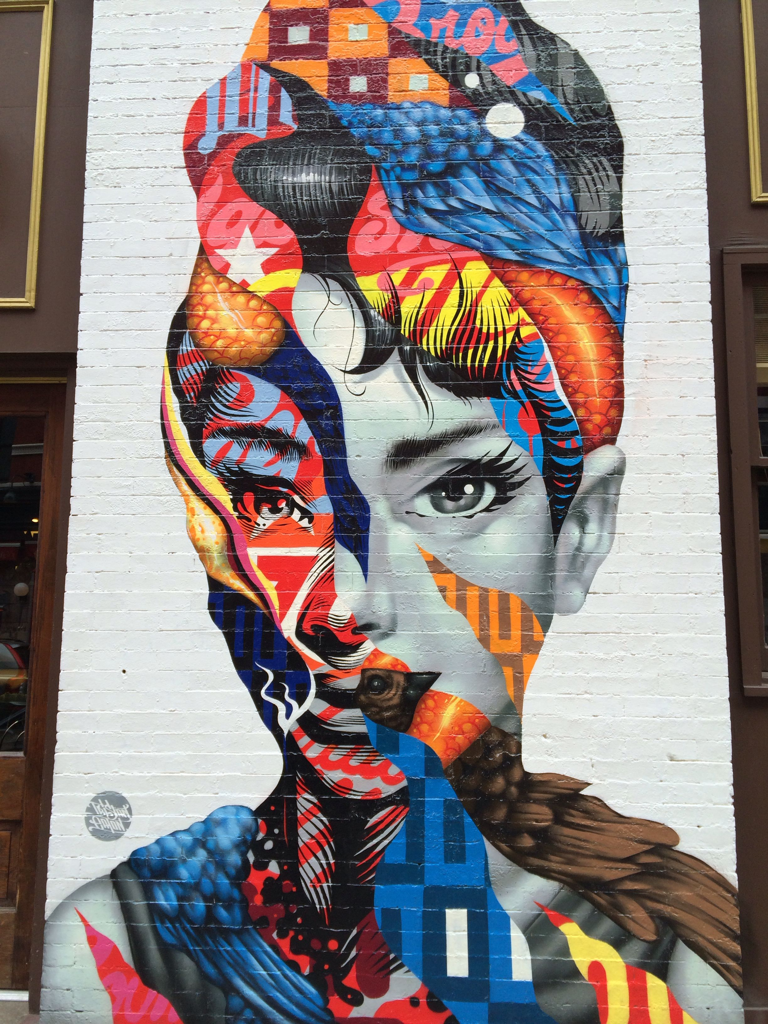 A0 SUPER SIZE CANVAS STREET ART GRAFFITI  PRINT  BANKSY new york painting