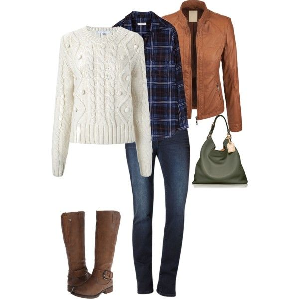Perfect fall outfit! So cozy!