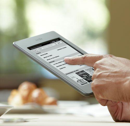 Amazon Kindle Touch ya está disponible en Amazon.es por $129€