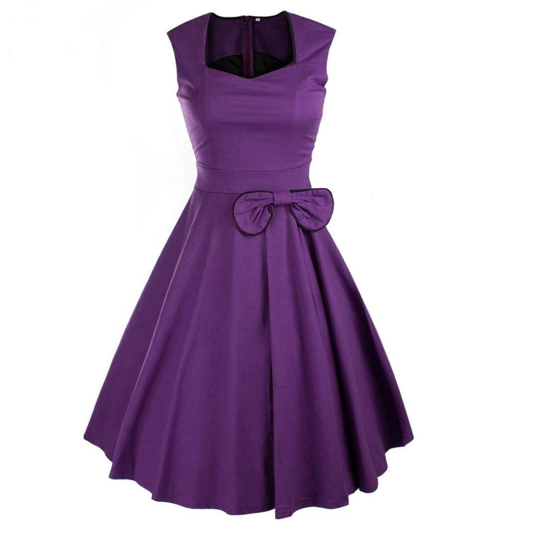Perfect Sleeveless Dress in Purple for Women, 35% discount @ PatPat ...