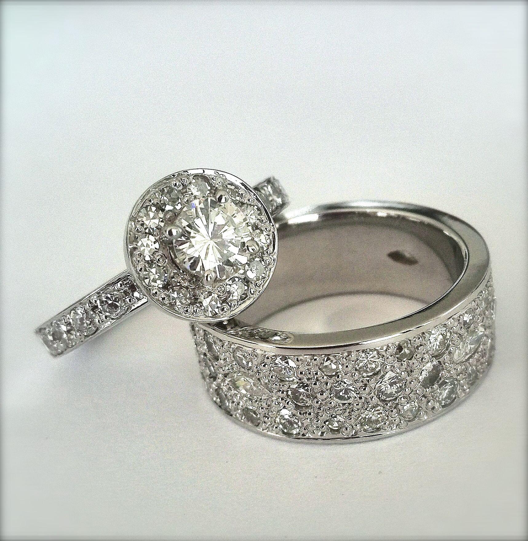 White Gold & Diamonds Oro Blanco & Diamantes