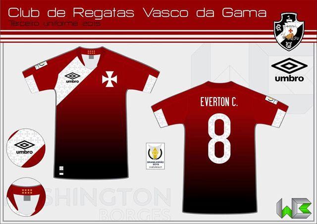 LeitorMDF  Washington Borges (3ª camisa clubes e seleção brasileira ... dbb9df7d5954a