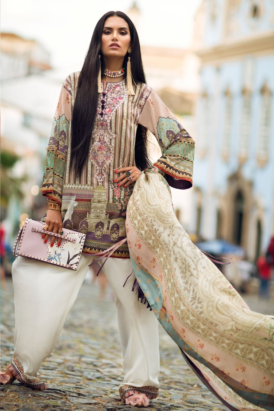 2a5e873554 Elan Lawn Spring Summer Collection 2018- Luxury Designer Lawn Suits ...