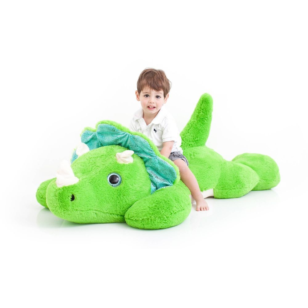 Giant Dinosaur Plush Toy Toddler Kids Silky Soft Huge Stuffed Jumbo