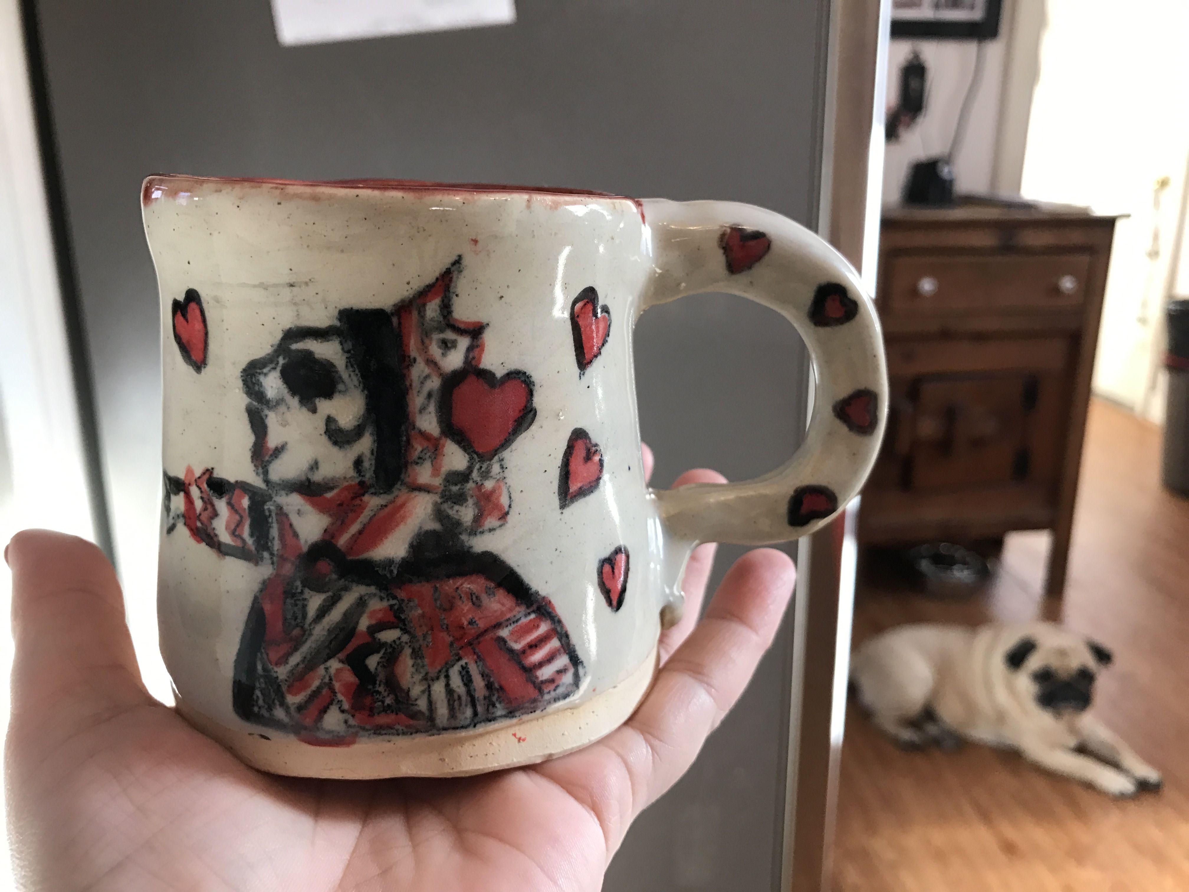 Queen of Hearts mug 2