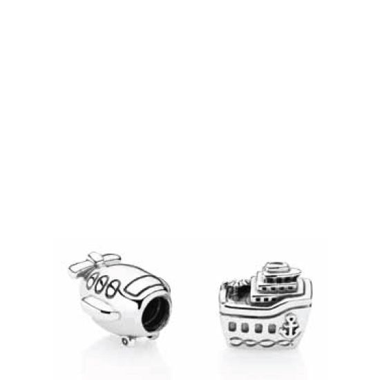 pandora anhänger travel charm set