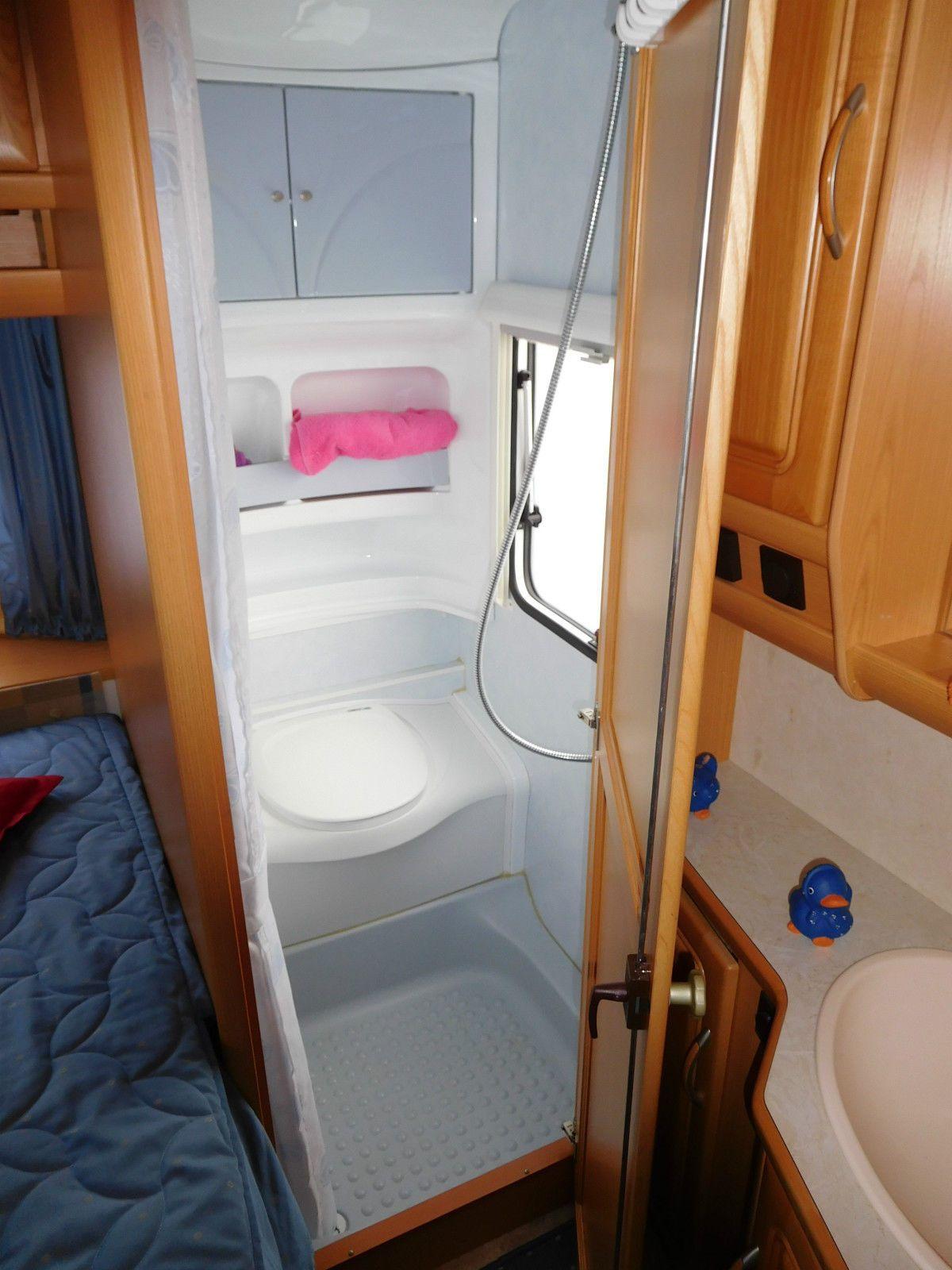 Wohnwagen Fendt Platin 470 TFB Isabella Vorz.1360 Kg