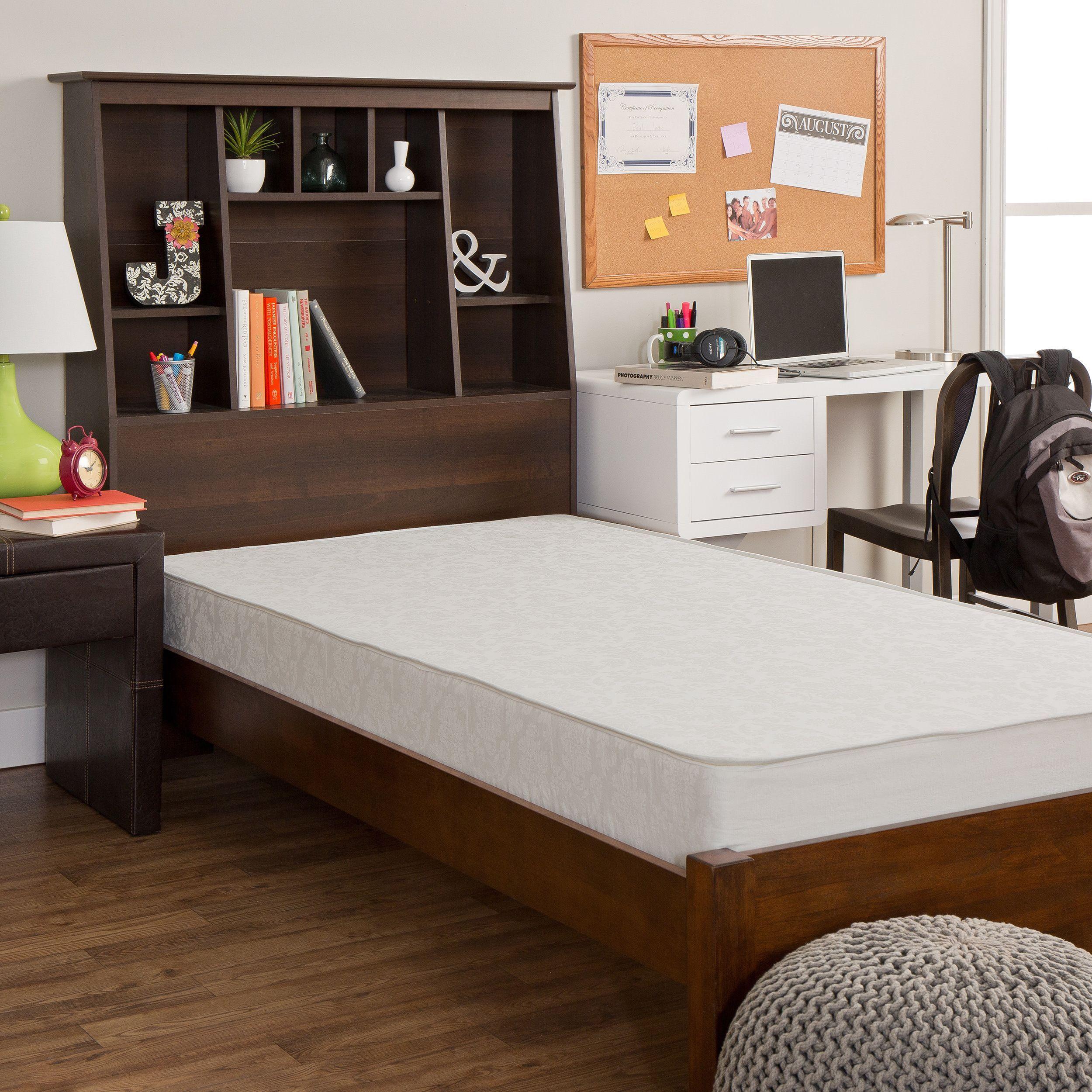 Select Luxury Dorm Flippable 7.5inch Medium Firm Full