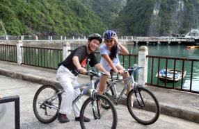Cycling and Trekking in Halong Bay