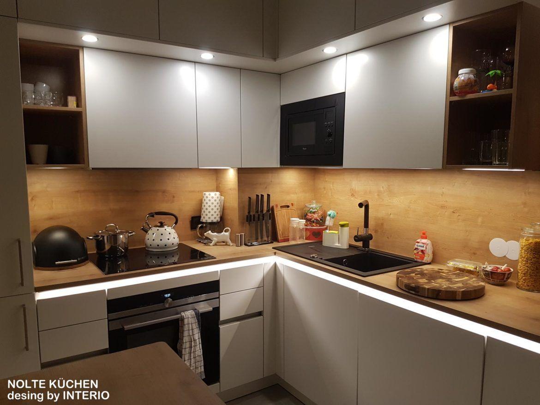 Mala Kuchnia Dla Calej Rodziny Realizacja Warszawa Ochota Interio Interior Design Kitchen Kitchen Cabinet Design Modern Kitchen Design