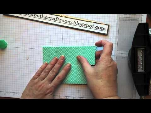 Envelope Punch Board Pop Up Tutorial