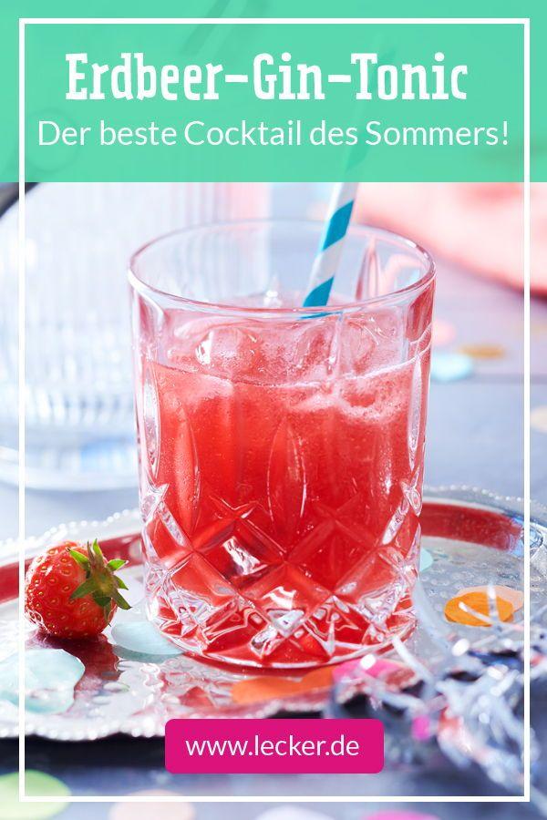 Erdbeer-Gin-Tonic - das beste Rezept