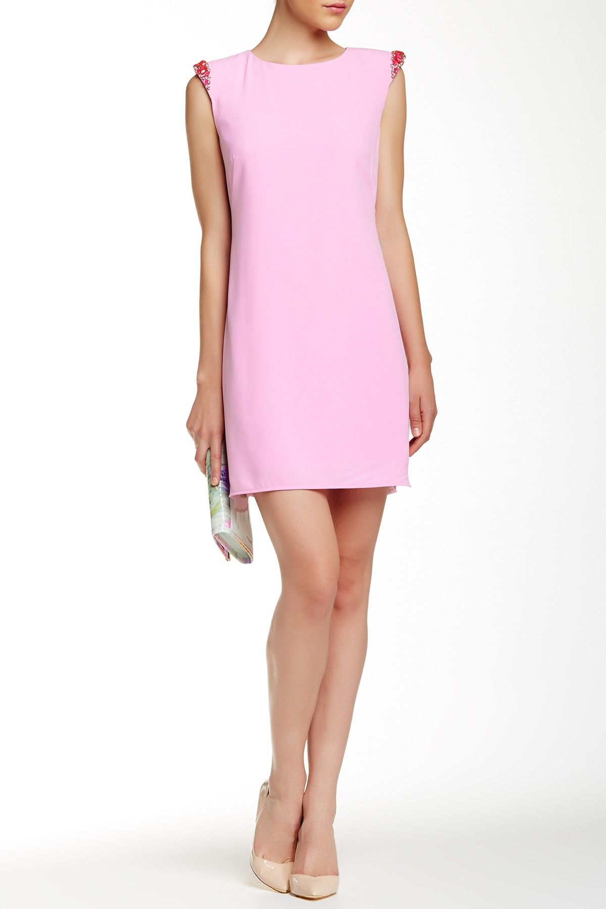 Reevah Embellished Shoulder Dress by Ted Baker London on @HauteLook ...