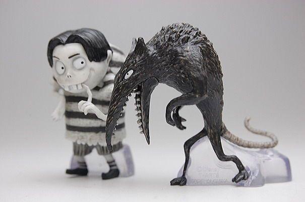 Tomy Tim Burton Disney Frankenweenie Figure Collection Edgar Waratto