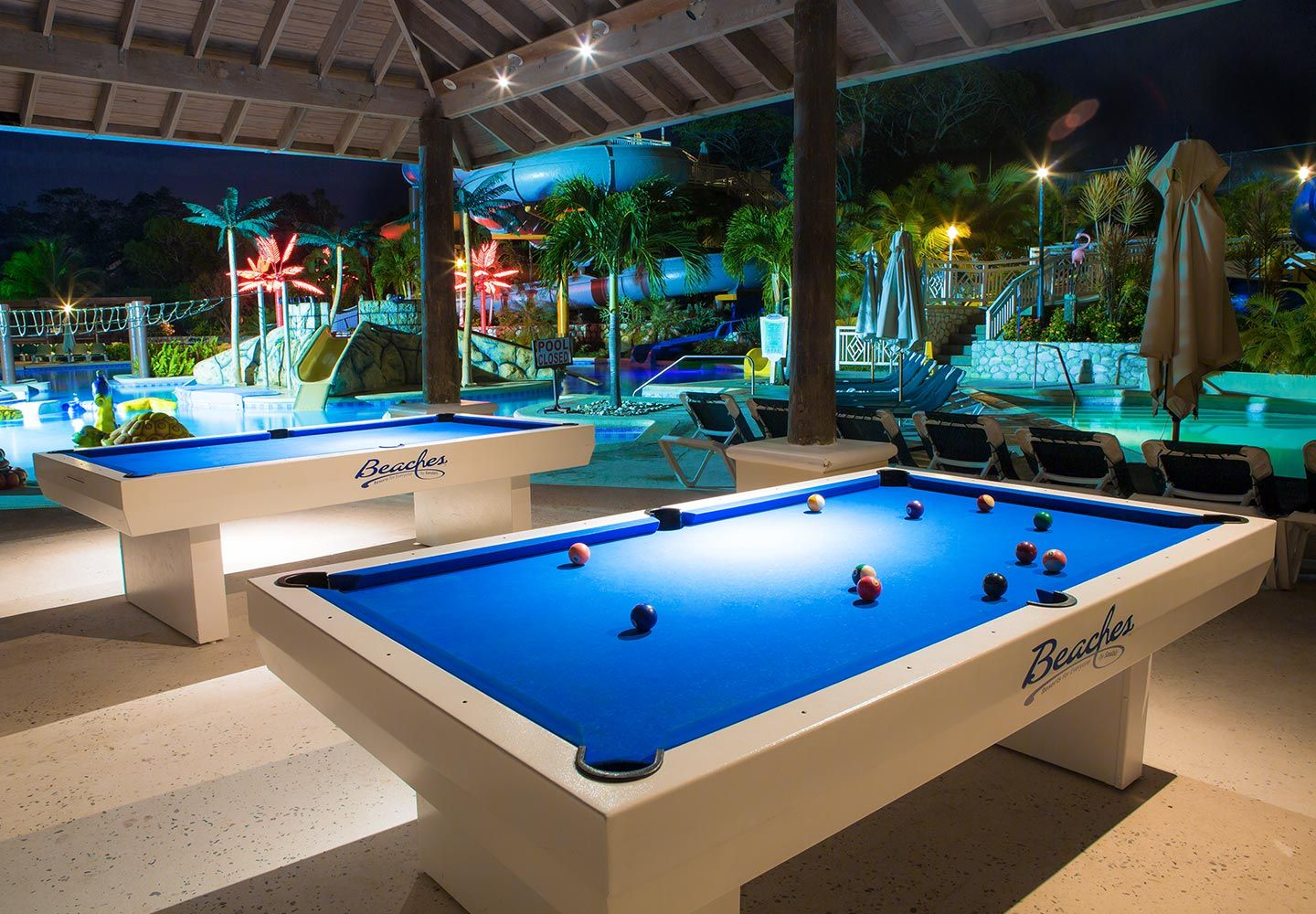 Pool Tables By The Pool The Fun Never Stops Beaches Resorts