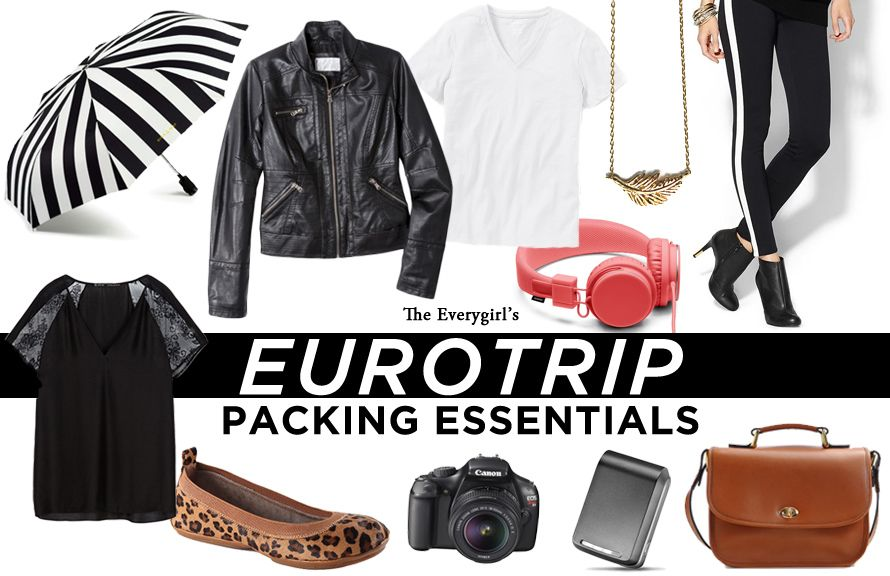 Eurotrip Packing Essentials: What to Bring on a Weeklong Trip to Europe
