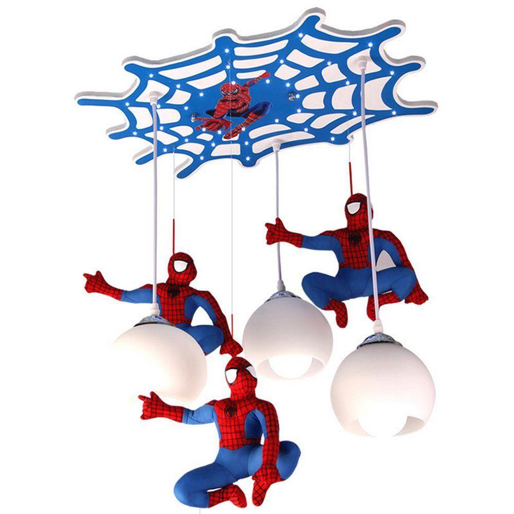 Spiderman Kronleuchter Led Hangelampe Im Coolen Spider Man Design Diese Hangeleuchte Fur Das Hangelampe Kinderzimmer Kinderzimmereinrichtung Kinder Zimmer