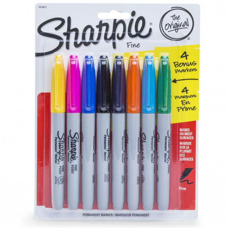 Sharpie 4 4 Colored Markers Sharpie Markers Sharpie Markers