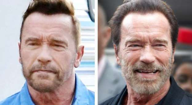 Arnold Schwarzenegger se marca un 'Briatore'