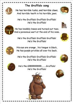 The gruffalo hook into a book pinterest gr ffelo - Ideen englisch ...