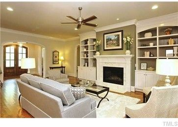 Lot 1 Brooks Ave Traditional Family Room Raleigh Melanie