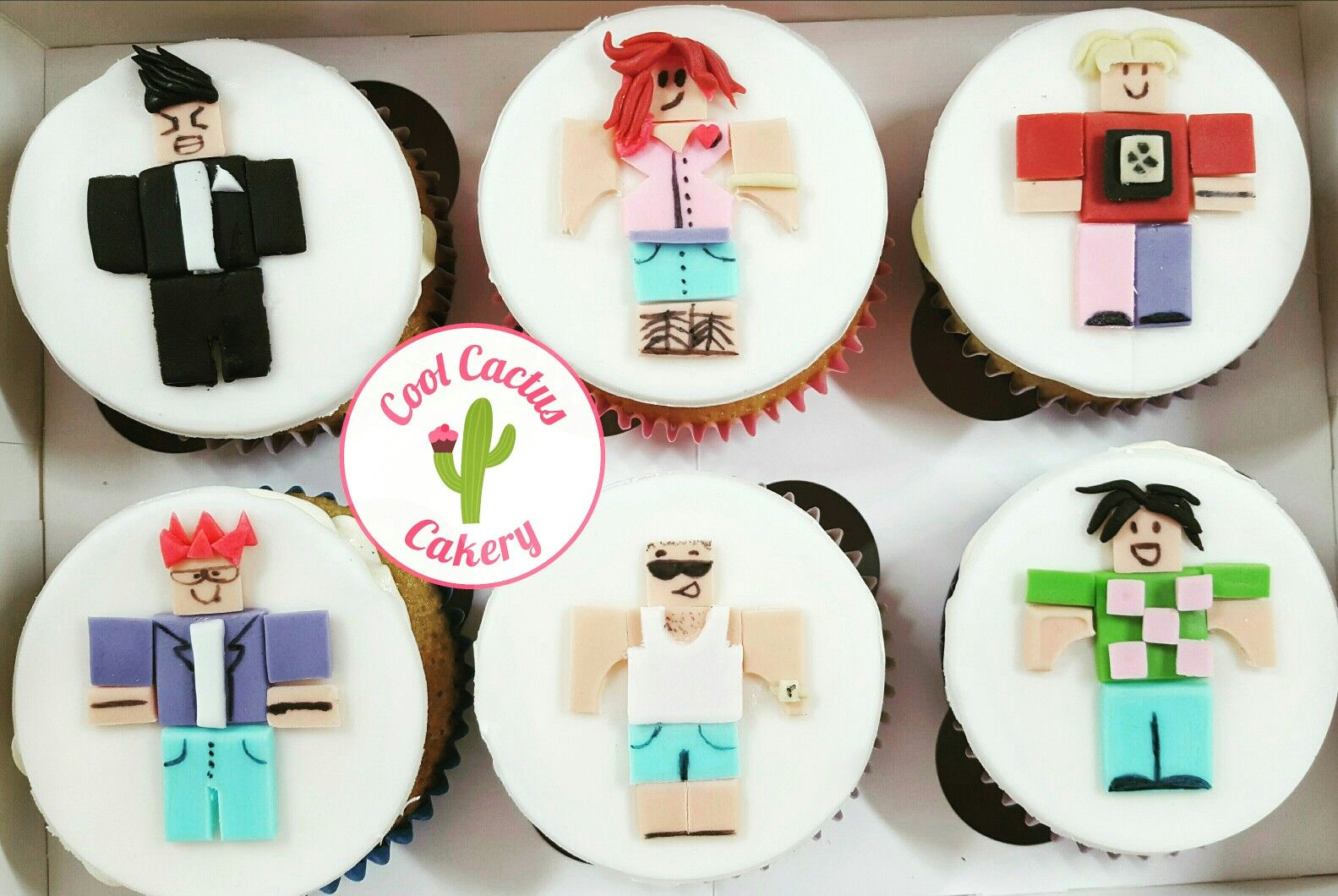 Roblox Cupcake Toppers Coolcactuscakery Cupcake Toppers Boy