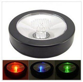 Innoo techcolor changing led coaster led light drink bottle cup innoo techcolor changing led coaster led light drink bottle cup coaster light up colorful led flashing coaster for bar clubs partiesblack appearance aloadofball Image collections