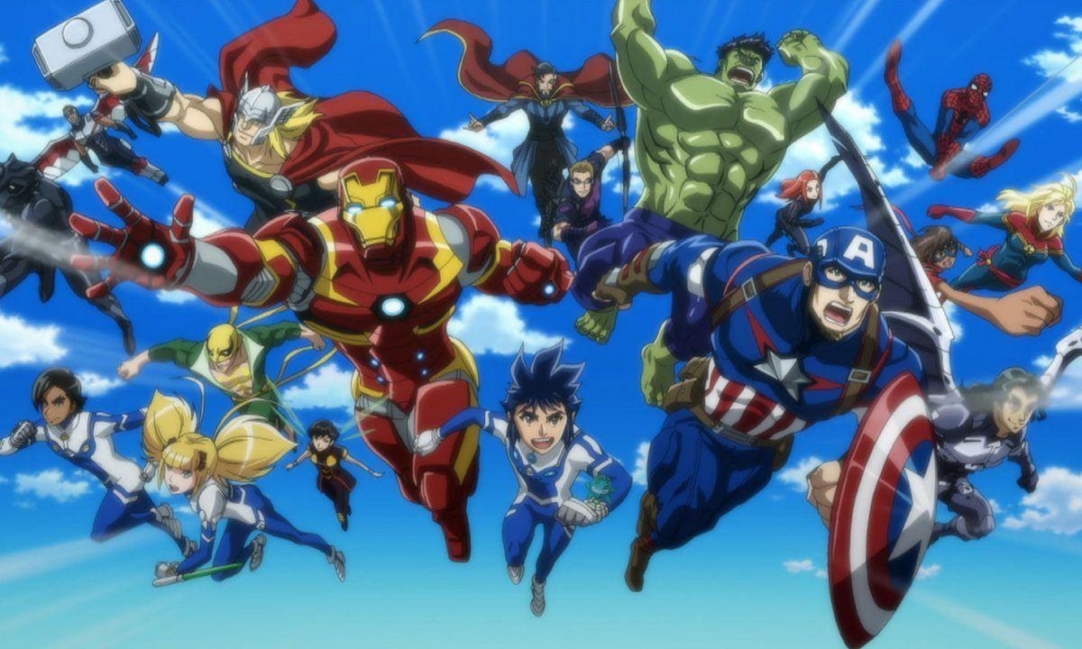 Marvel Future Avengers Japanese Anime Series Premieres 28