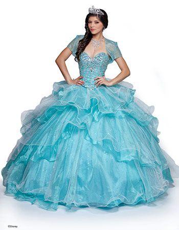 Elsa Disney Princess Inspired Quinceanera Dresses