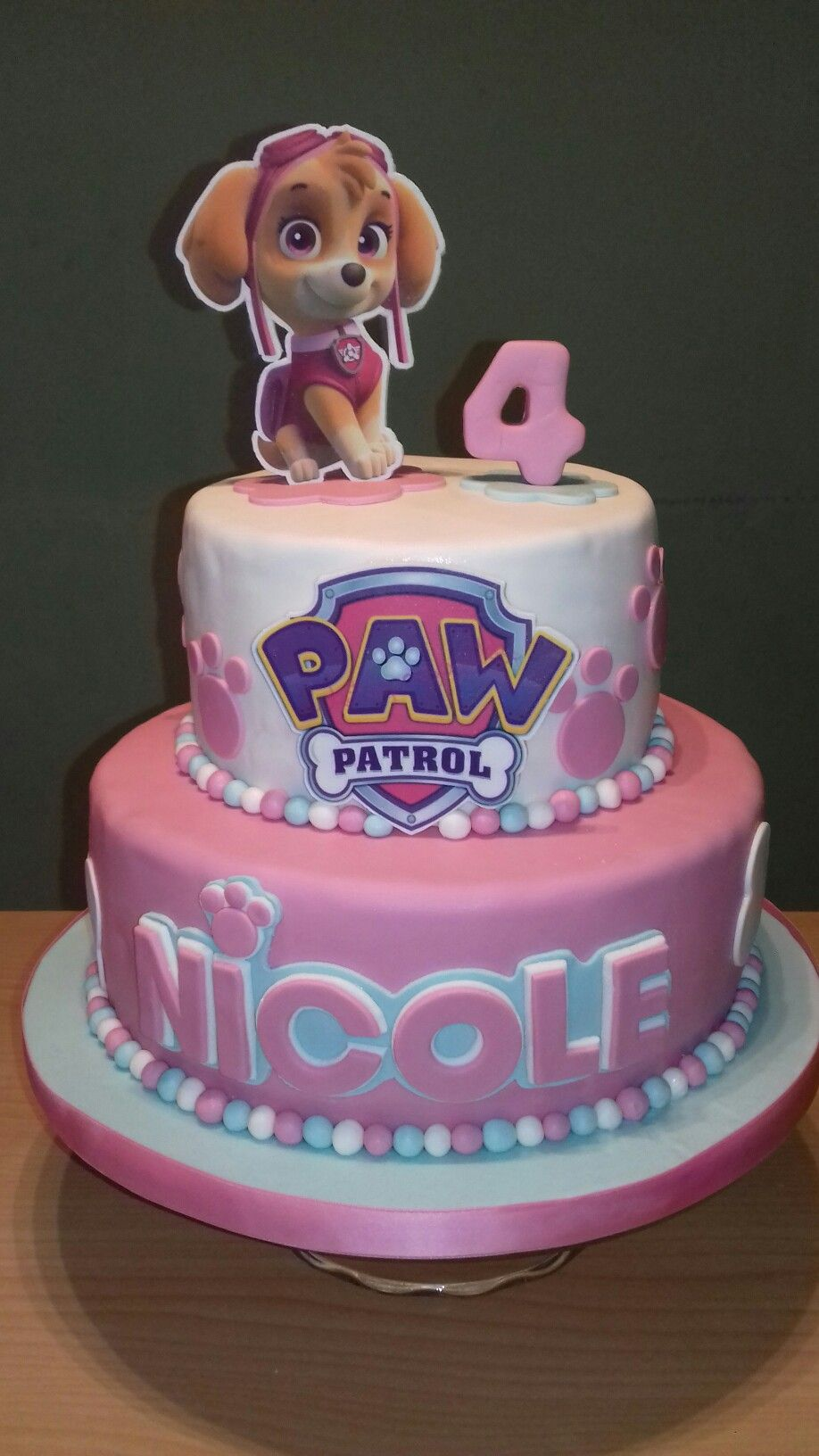 Pin By Chelsea Lawrence On Paw Patrol Paw Patrol Birthday Cake Girl Paw Patrol Birthday Cake Paw Patrol Party Cake