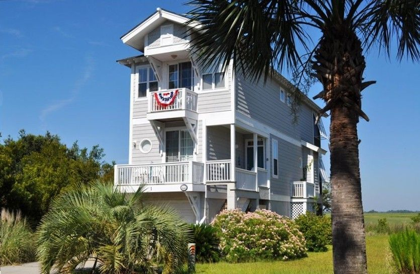 House Vacation Rental In Ocean Creek Bonito Boathouses Fripp