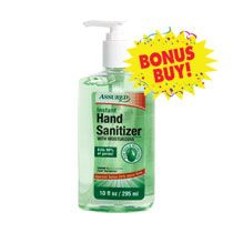 Bulk Assured Hand Sanitizer With Aloe 10 Oz Bottles At