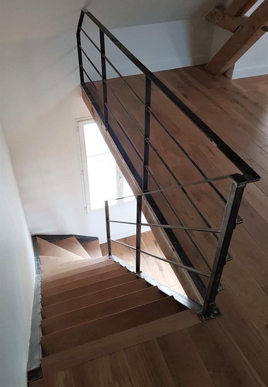 Les Verrieres De L Oise Escalier Escalier Verriere Escalier Entree Maison Moderne