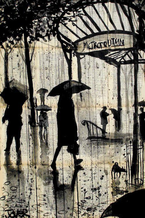 Metropolitain - Canvas Print