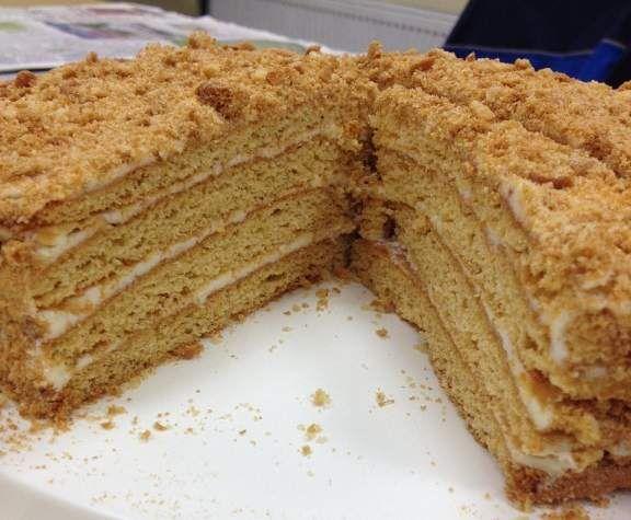 Honigtorte Medovik Rezept In 2019 Backen Thermomix Torte Und