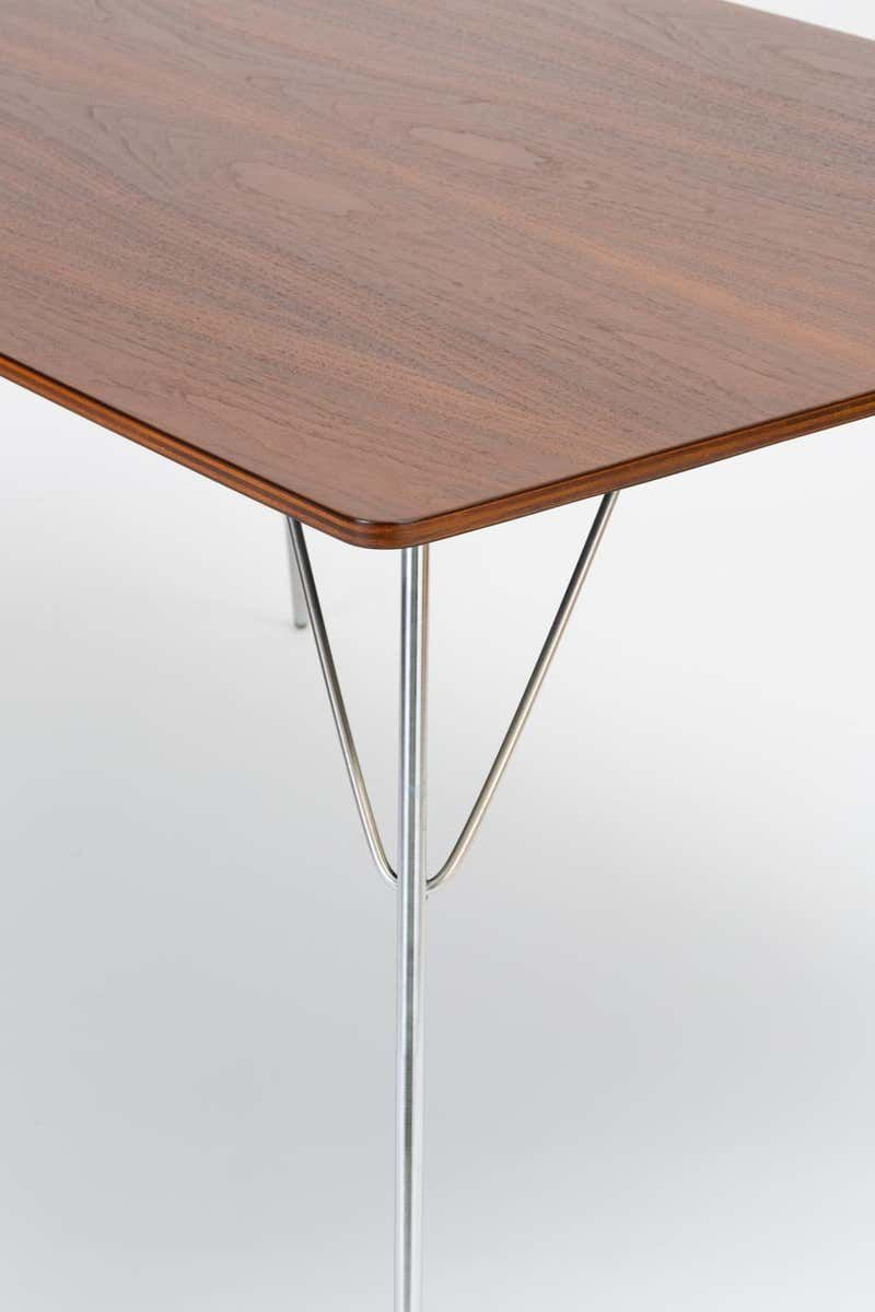 Dtm 10 Rectangular Dining Table By Ray And Charles Eames For