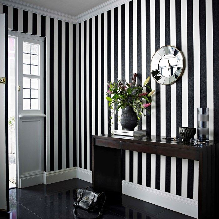 Glitterati Black White Wallpaper By Graham And Brown