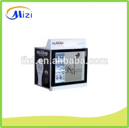 Small Ice Cream Display Freezer Table Top Mini Display Freezer