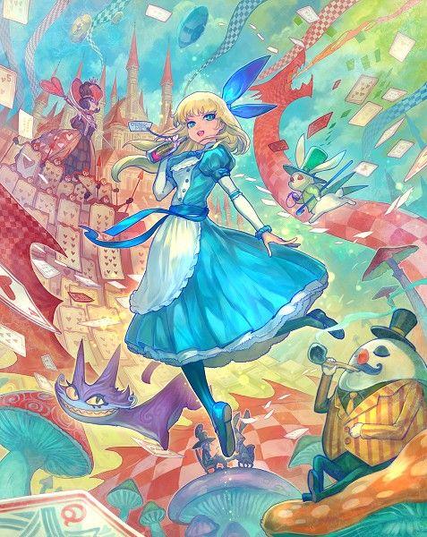 Pin De Eduardo Fabrin Em Alice Com Imagens Producao De Arte Anime