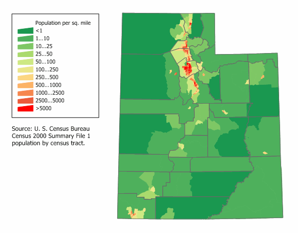 Utah Potion Density Map | Utah, Map, Heat map on census maps by county, census tracts map of us, census tract codes by county, map of saratoga ny by county, state maps county, town of bernalillo county, 2010 census tracts by county, census tracts city of tulsa, 2012 census tracts by county, census tract numbers by county,