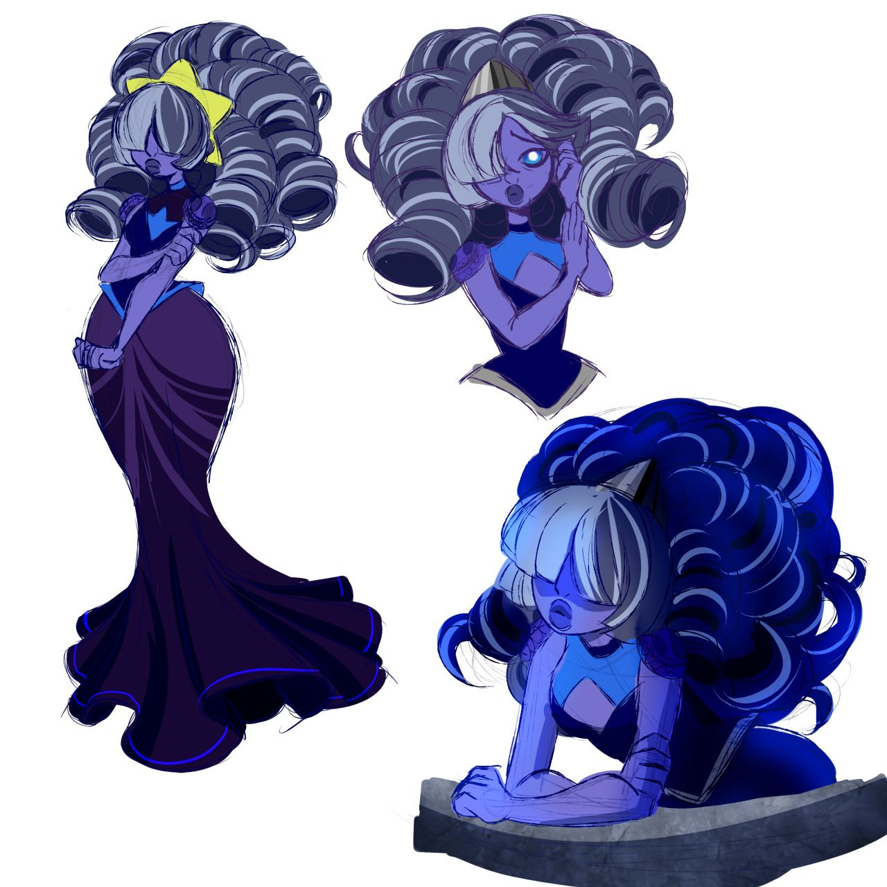 wanted my gemsona blue