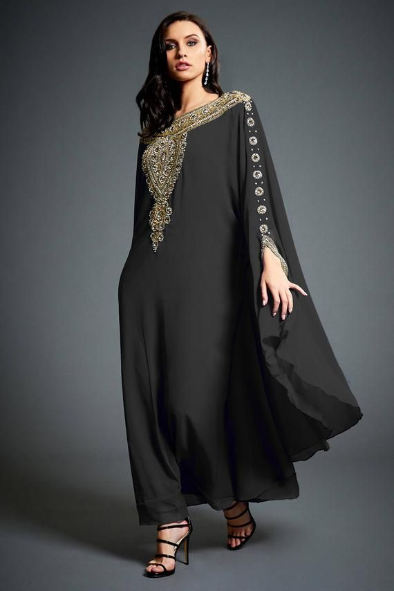 Vestido Kaftan de Festa Exclusivo Plus Size