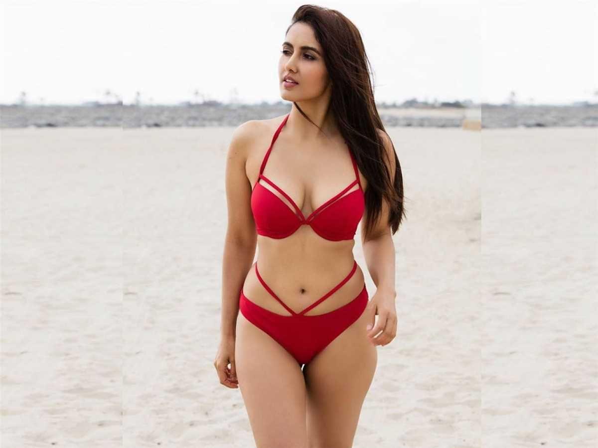 Niyanta Acharya hot in red bikini - newsdezire