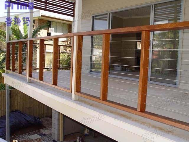 Decorative D I Y Installation Outdoor Wood Railing Pr B90 Buy Outdoor Wood Railing Railing For Balcony Stainless Steel Railing Terrassen Gelander Teak Haus