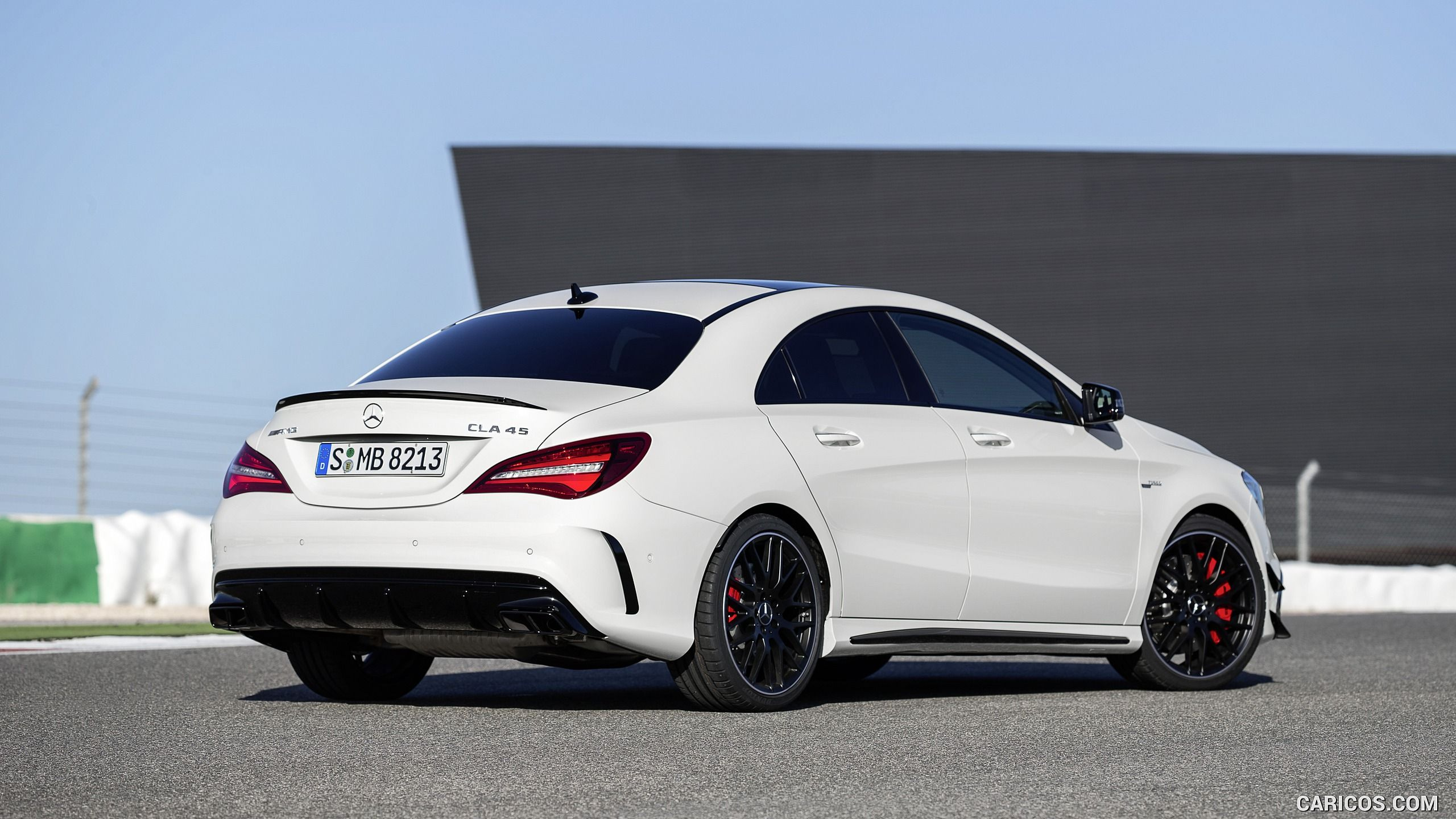 2017 Mercedes Amg Cla 45 Wallpaper With Images Shooting Brake