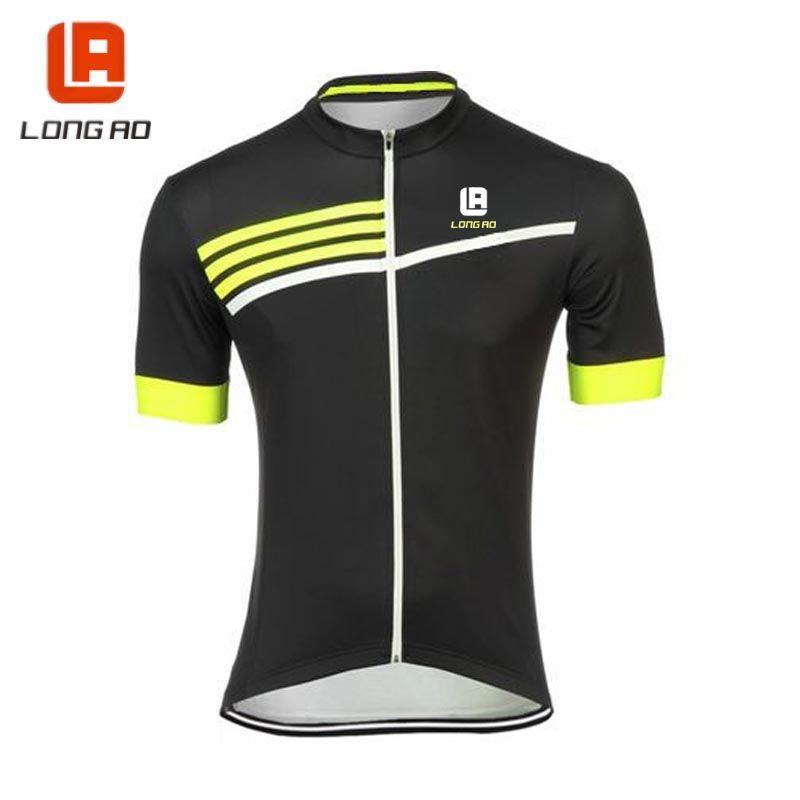 Longao Mens Ropa Ciclismo Cycling Jersey Top Bike Clothing Bicycle
