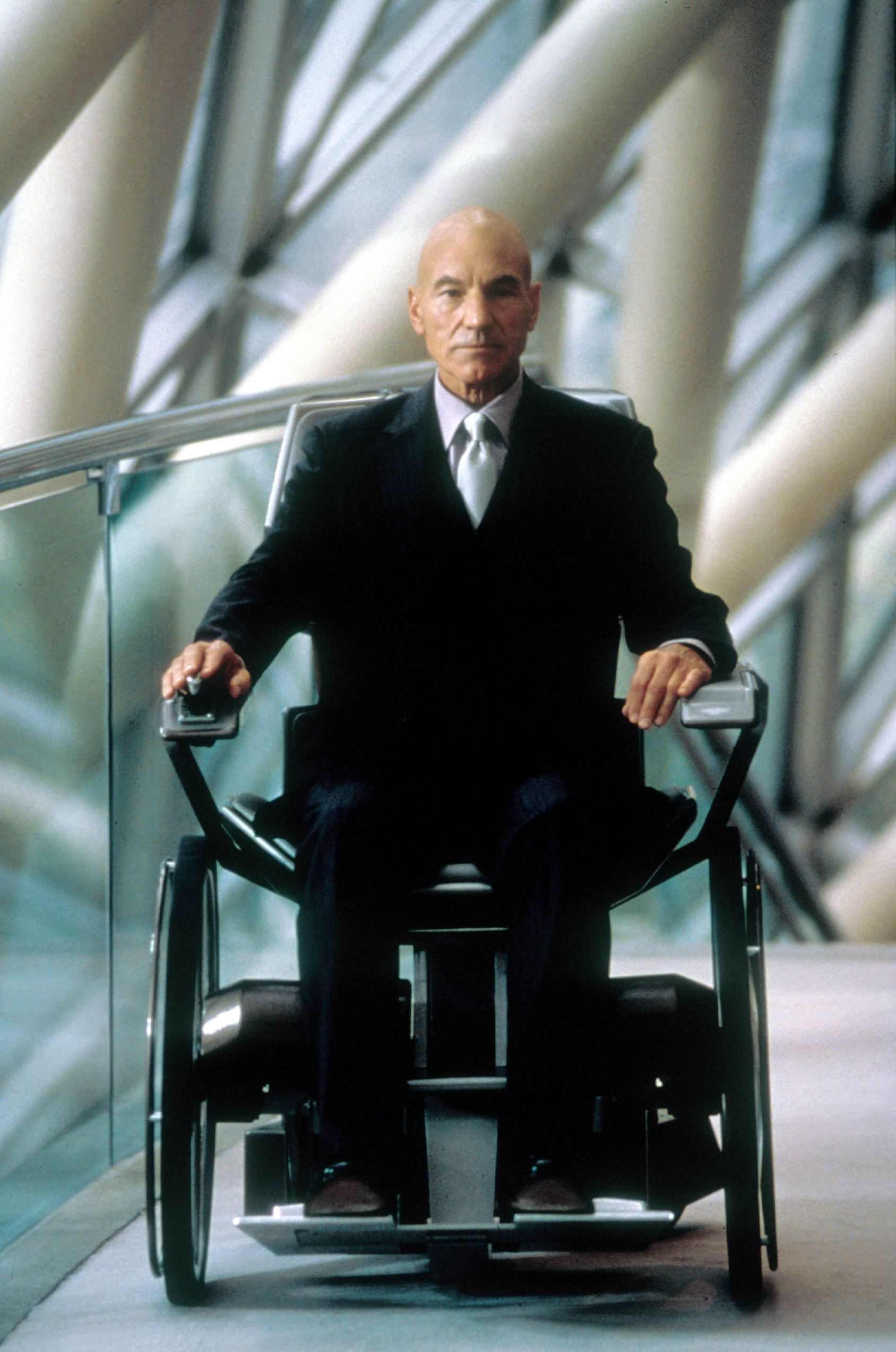 Superheroes Then And Now Professor Charles Xavier X Men Patrick Stewart