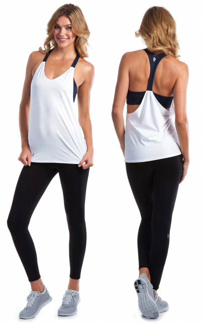 Long slim including the midriff lines is what pops  WorkoutClothing ... 3bf7ec44e
