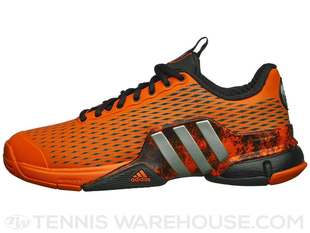 watch 9888c d02a3 adidas Barricade 17 Blue Orange Men s Shoe   sports   Adidas barricade,  Adidas, Sports
